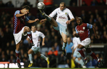 Aston Villa v Burnley Carling Cup Fourth Round