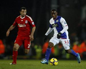 Blackburn Rovers v Liverpool Barclays Premier League