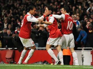 Arsenal v Fulham Barclays Premier League