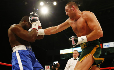 Tyson Fury v Kevin Johnson WBC Heavyweight Title Eliminator