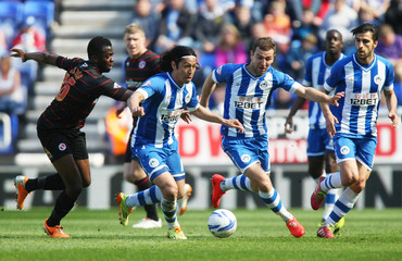 Wigan Athletic v Reading - Sky Bet Football League Championship