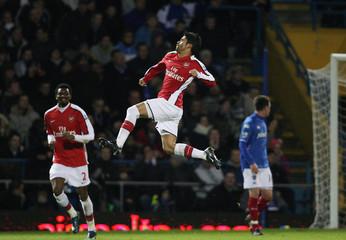 Portsmouth v Arsenal Barclays Premier League