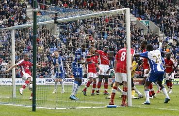 Wigan Athletic v Arsenal Barclays Premier League