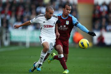 Swansea City v Aston Villa Barclays Premier League