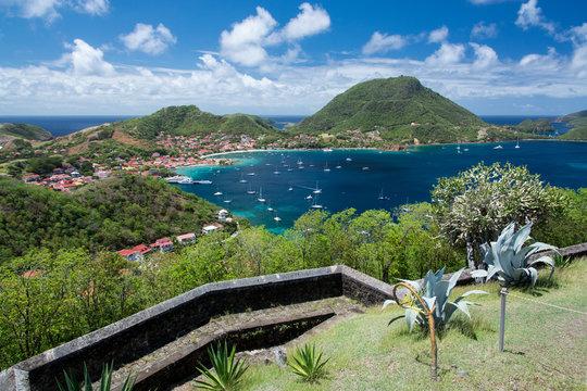 Archipel des Saintes - Guadeloupe - Vue depuis le fort Napoléon
