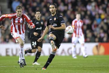 Stoke City v Valencia UEFA Europa League Second Round First Leg