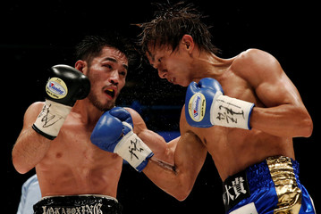 Boxing WBA light - flyweight title - Ryoichi Taguchi of Japan v Ryo Miyazaki of Japan