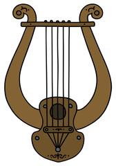 Ancient Greek stringed musical instrument