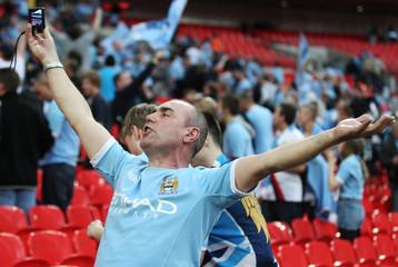Manchester City v Manchester United FA Cup Semi Final