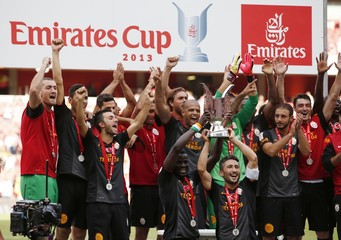 Arsenal v Galatasaray - Emirates Cup 2013 - Pre Season Friendly Tournament