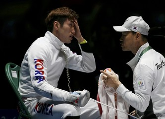 Fencing - Men's Epee Individual Semifinals