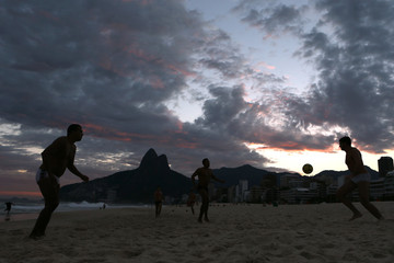 Beach Football in Brazil
