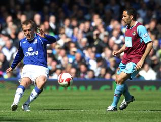 Everton v West Ham United Barclays Premier League
