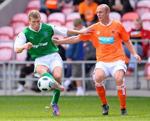 Blackpool v Hibernian Pre Season Friendly