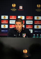 Atletico Madrid - UEFA Europa League Final Press Conference & Training