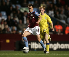 Aston Villa v Cardiff City Carling Cup Third Round
