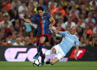 FC Barcelona v Manchester City Joan Gamper Trophy