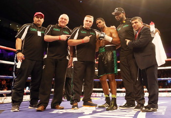 Frankie Gavin v Sacky Shikukutu Commonwealth Welterweight Title