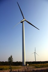 Wind Powered Electric Generators of Clean Energy