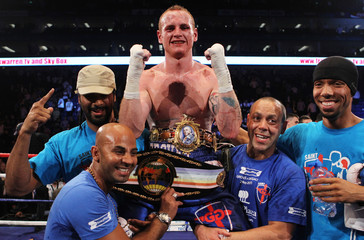James DeGale v George Groves British & Commonwealth Super Middleweight Title's