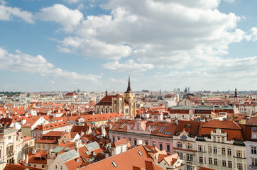Overview of Prague City