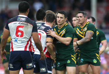 Australia v United States of America - Rugby League World Cup 2013 Quarter Final