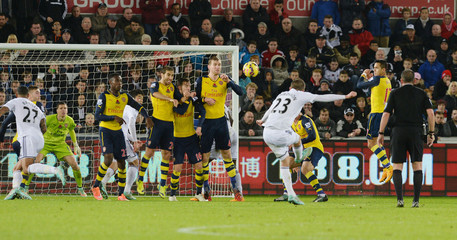 Swansea City v Arsenal - Barclays Premier League