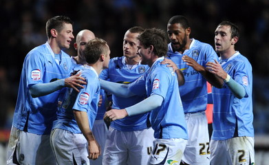 Coventry City v Cardiff City npower Football League Championship