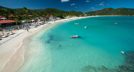 Beach at St.Barth, French West Indies