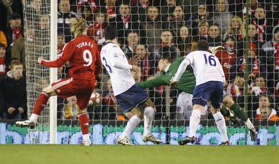 Liverpool v Portsmouth Barclays Premier League