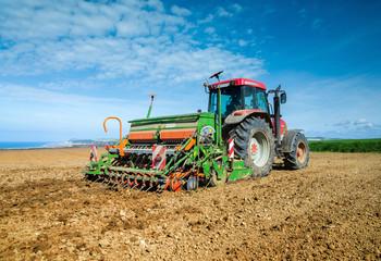 agriculteur au travail