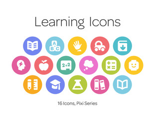 Learning Icons, Pixi Series