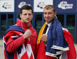 Lucian Bute & Carl Froch Press Conference