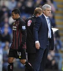 Portsmouth v Manchester City Barclays Premier League