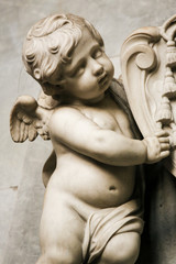 Angel Statue in Ghent Cathedral