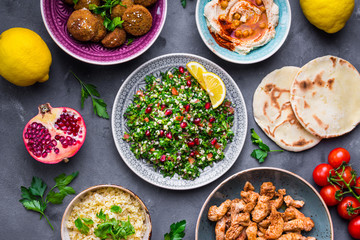 Middle eastern dishes