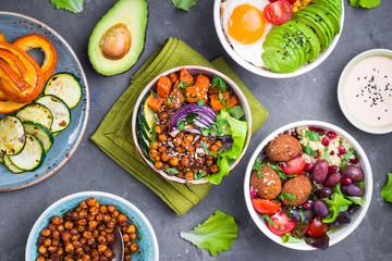 Buddha bowl salads