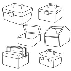 vector set of toolbox