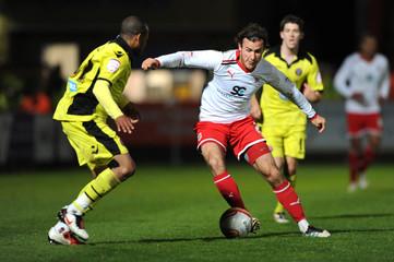 Stevenage v Sheffield United npower Football League One Play-Off Semi Final First Leg