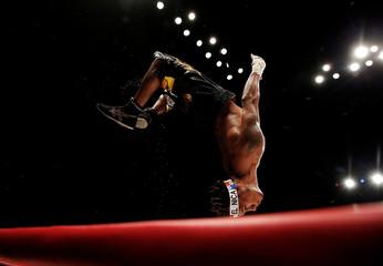 Boxing - WBA super-flyweight title - Kohei Kono v Luis Concepcion