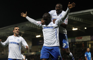 Chesterfield v Tranmere Rovers Johnstone's Paint Trophy Northern Area Quarter Final