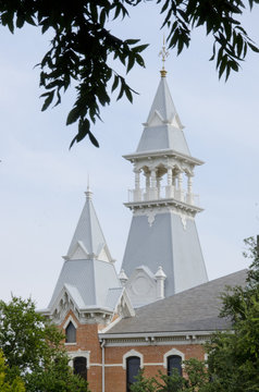 Old Main Cupolas at Baylor University