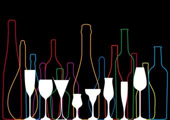 drink alcohol illustration