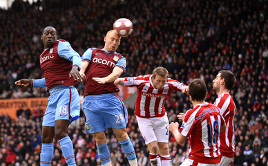 Stoke City v Aston Villa Barclays Premier League