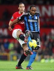 Manchester United v Stoke City Barclays Premier League