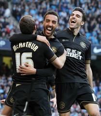 Manchester City v Wigan Athletic - FA Cup Quarter Final