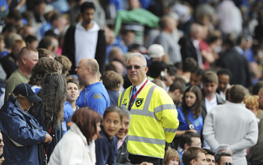 Matchday steward at the game