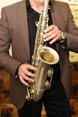 Saxophone player Saxophonist