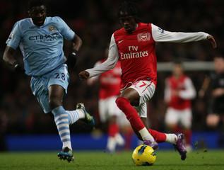 Manchester City v Arsenal Barclays Premier League