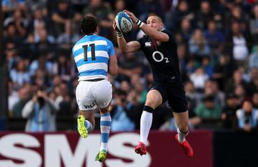 Rugby Union - Argentina v England